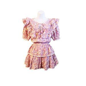 LoveShackFancy Floral Liv Dress